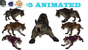 3D model Professional CGI Tiger - fur