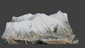 Nanga Parbat Mountain 3D