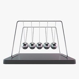 newton s pendulum 3D