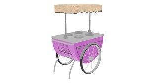 ice cream cart model