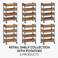 Retail Shelf 02 01 Collection with Potatoes - 6 Products
