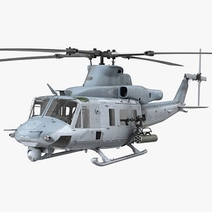 3D Bell UH1Y Venom Helicopter