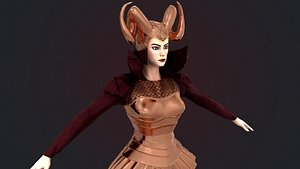 Dragon Queen 3D model