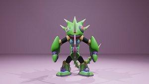 3D Sting Chameleon rig