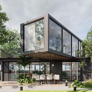 3D model Modern Houses