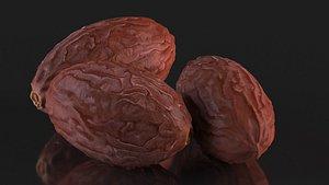 3D date fruit