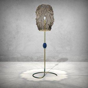 3D Floor Lamp 02