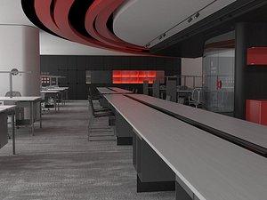 3D Office Office Office Large Office Office Hall Office Roam Modern Office Manager's Office Card Block