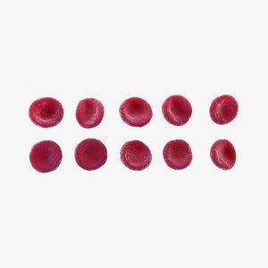 Red Cells 3D model