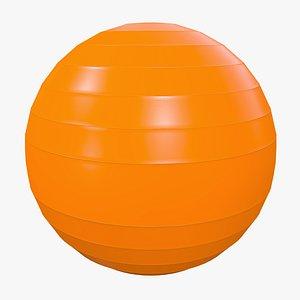 3D model Pilates Ball v3 with Pbr 4K 8K