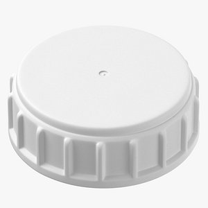ribbed plastic buttress cap model