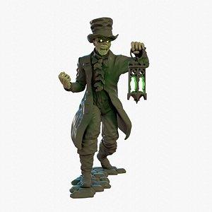 3D Eddie with Lantern model