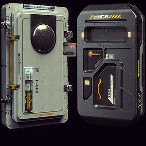 3D model doors modeled octane