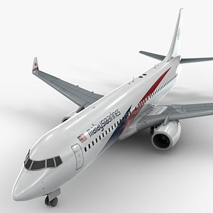 3D Boeing 737-8 MAX MALAYSIA Airlines L1345