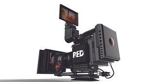 RED DRAGON X10 Camera 3D model
