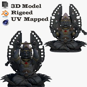 Ganesha Statue 5 3D model