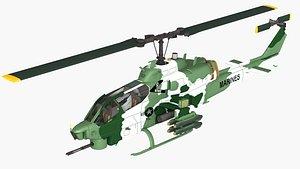 ah-1w 3D model