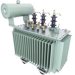 transformer oil power 3D model