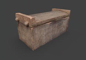 sarcophagus pbr 3D model