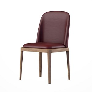 Evelyn Dining Chair brown finish model