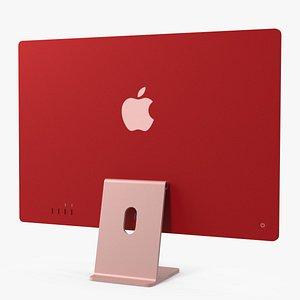 3D model Apple iMac 2021 Pink