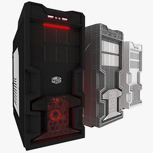 Cooler Master K380 Gaming Mid Tower 3D model
