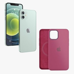 3D apple iphone 12 silicone
