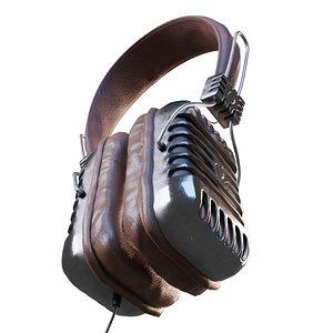Retro Headphones model