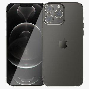 Apple iPhone 13 Pro Max Graphite 3D