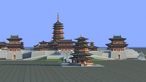 Chinese Ancient Buildings 03 3D model