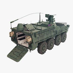 3D M1130 Stryker