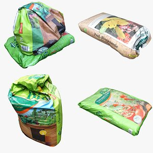 3D Sack Bag Collection 03