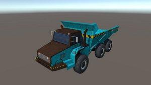 industry truck 3D