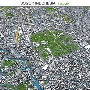 Bogor Indonesia 3D