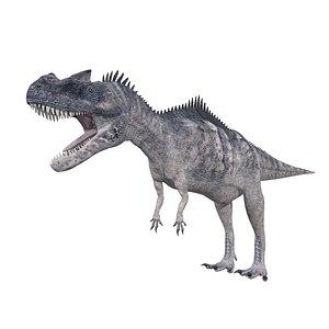 Giganotosaurus  Rigged 3D model