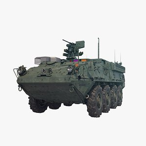 3D Stryker M1126 model