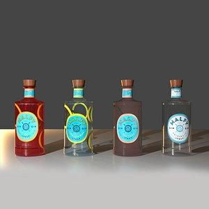 malfy gin 3D model