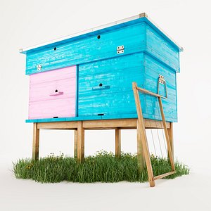 beehive bee model