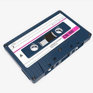 tape cassette 3D
