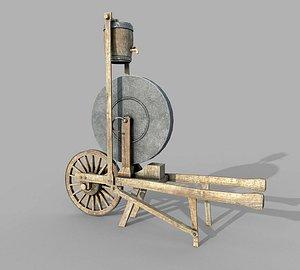 Medieval Grindstone model