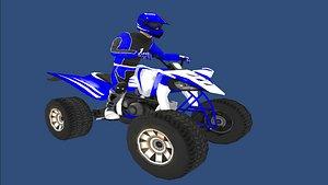 3D model quad bike