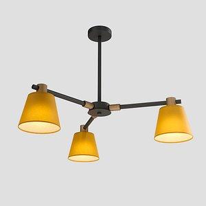 chandelier light 3 natura model