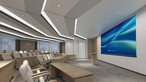 Lecture Hall 18 3D