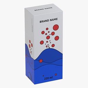 Package box Pillbox model
