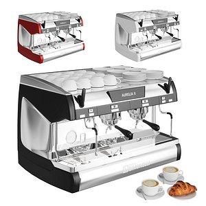 aurelia coffee machines 3D
