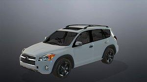 3D Realistic car 3D model