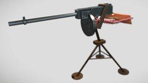 3D Tommy Gun
