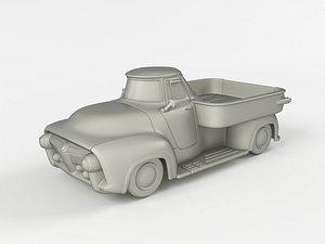3D model truck fallout 4