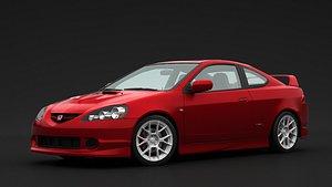 Honda Integra Type R 2006 3D model