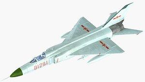 3D jh-7 jh-7a jh model
